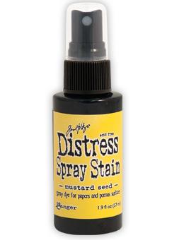 Tim Holtz Distress Spray Stain Mustard Seed