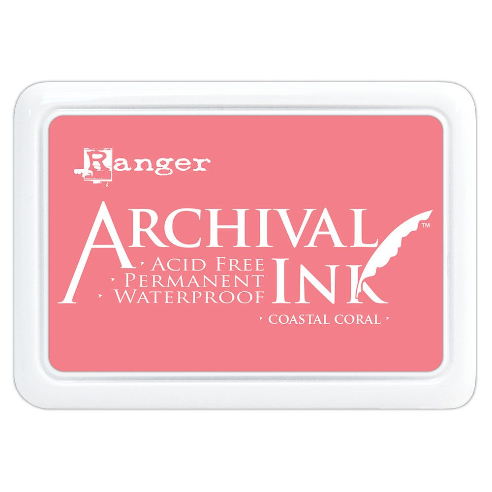 *Ranger - Archival Ink Pad - Costal Coral