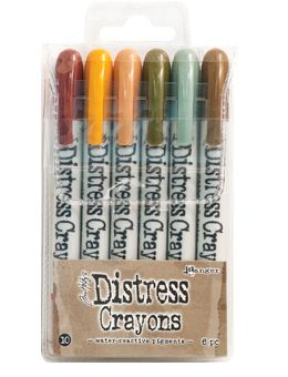 *Tim Holtz - Distress Crayons - Collection #10