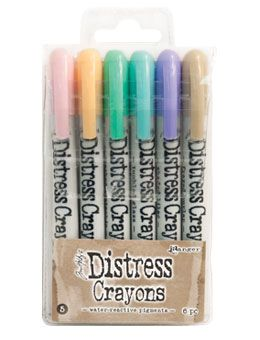 *Tim Holtz - Distress Crayons - Collection #5