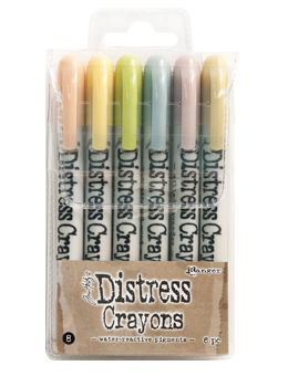 *Tim Holtz - Distress Crayons - Collection #8