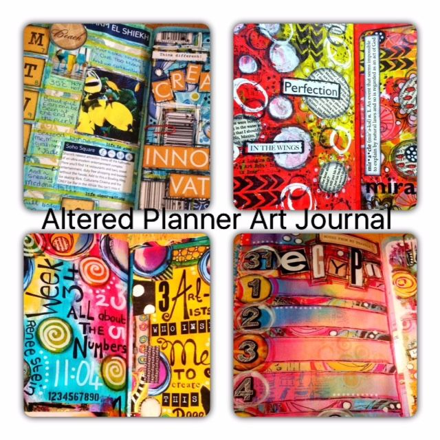 Altered Planner Art Journal with Tracy