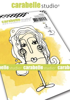 Carabelle Studio - Cling Stamp A7 - Elsie by Kate Crane