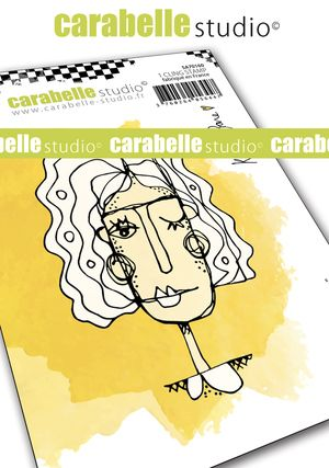 Carabelle Studio - Cling Stamp A7 - Lola by Kate Crane