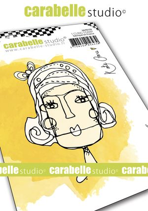 Carabelle Studio - Cling Stamp A7 - Pearl by Kate Crane