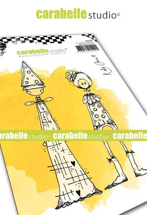 Carabelle Studio - Rubber Stamps - A6 - Quirky