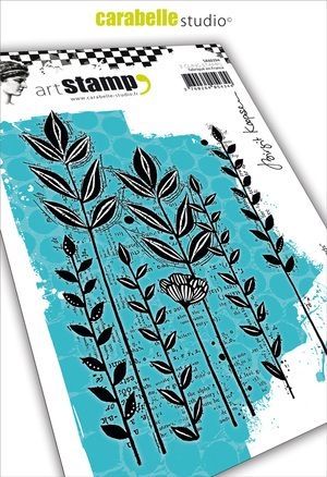Carabelle Studio - Rubber Stamps - A6 - Roadside Weeds by Birgit