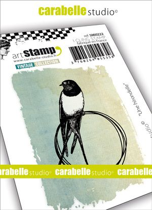 Carabelle Studio - Rubber Stamps - Small - A Swallow