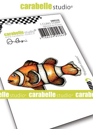 Carabelle Studio - Rubber Stamps - Small - Clown Fish