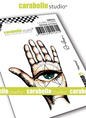 Carabelle Studio - Rubber Stamps - Small - Hamsa by Alexi