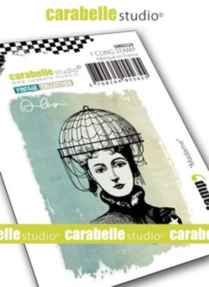 Carabelle Studio - Rubber Stamps - Small - Madame