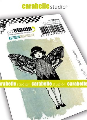 Carabelle Studio - Rubber Stamps - Small - Pretty Doll