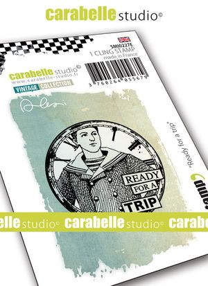 Carabelle Studio - Rubber Stamps - Small - Ready for a Trip