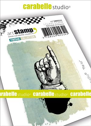 Carabelle Studio - Rubber Stamps - Small - This Way