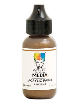 Dina Wakley Media - Acrylic Paints - 1oz Bottle - Ancient