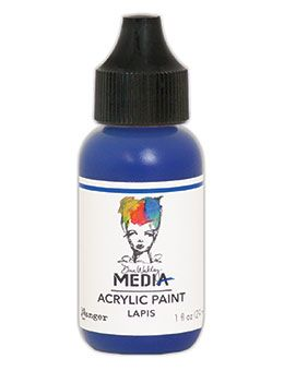 Dina Wakley Media - Acrylic Paints - 1oz Bottle - Lapis