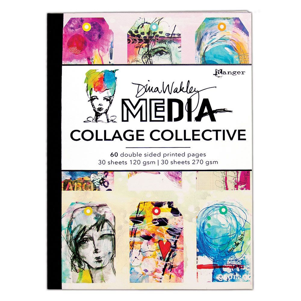 Dina Wakley Media - Collage Collective