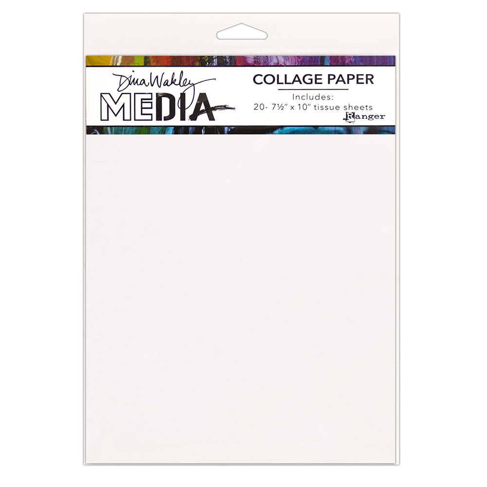 Dina Wakley Media - College Paper - Plain