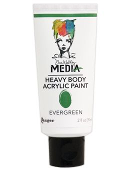 Dina Wakley Media - Heavy Body Acrylic - Evergreen