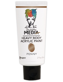 Dina Wakley Media - Heavy Body Acrylic - Penny