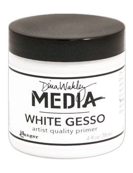 Dina Wakley Media - Mediums Gesso White