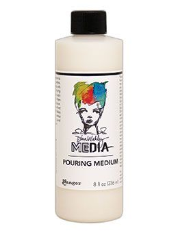 Dina Wakley Media - Pouring Medium - 8oz Bottle