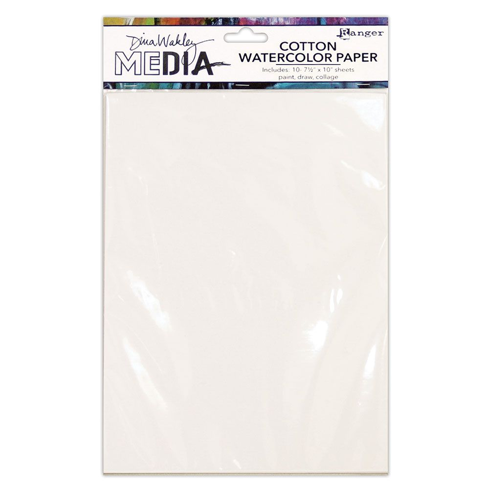 Dina Wakley Media - Surface Packs - Cotton Watercolour