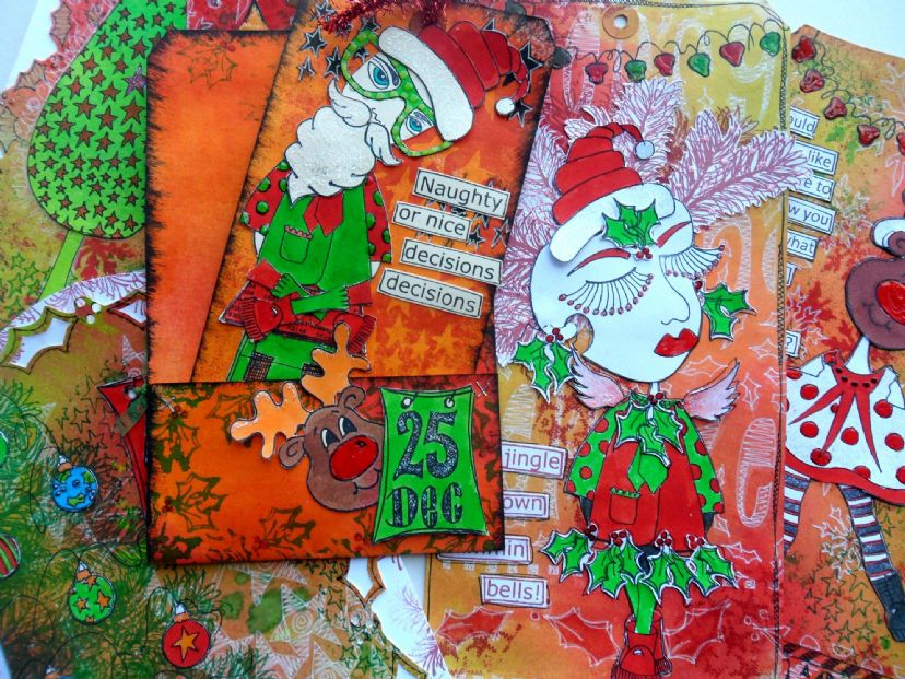 Dyan Reaveley - Dylusions Christmas Accessories