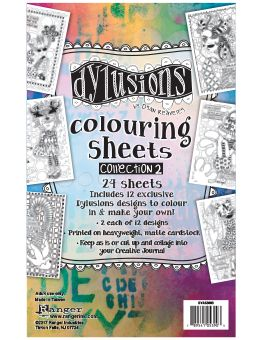 Dylusions - Colouring Sheets #2