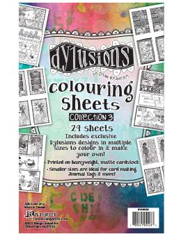 Dylusions - Colouring Sheets #3