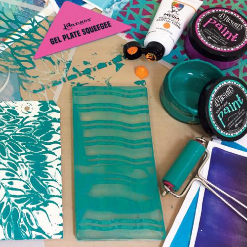 Dylusions & Dina Wakley Media - Gel Press Collection