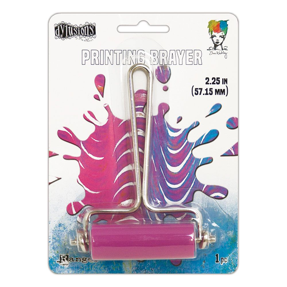 Dylusions & Dina Wakley Media - Gel Press Collection - Brayer Small