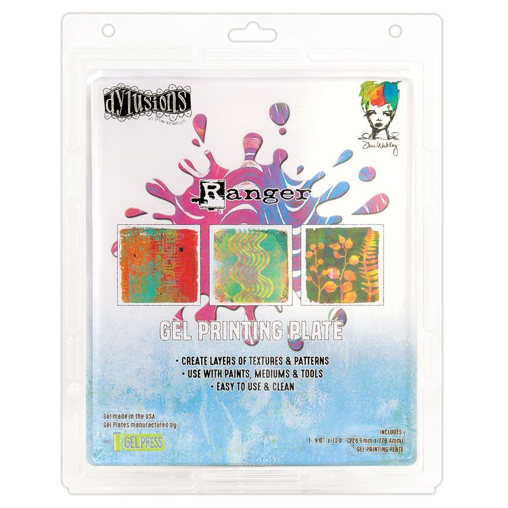 Dylusions & Dina Wakley Media - Gel Press Collection - Gel Plate 9x11""