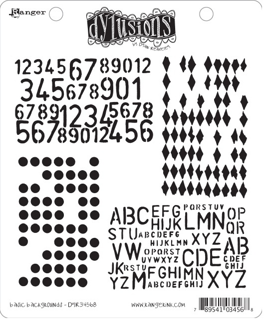 Dylusions - Rubber Stamps - Basic Backgrounds