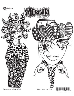 Dylusions - Rubber Stamps - Endevour