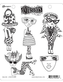 Dylusions - Rubber Stamps - Mini Me