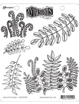 Dylusions - Rubber Stamps - Oodles of Foliage