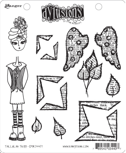 Dylusions - Rubber Stamps - Tallulah Tripp