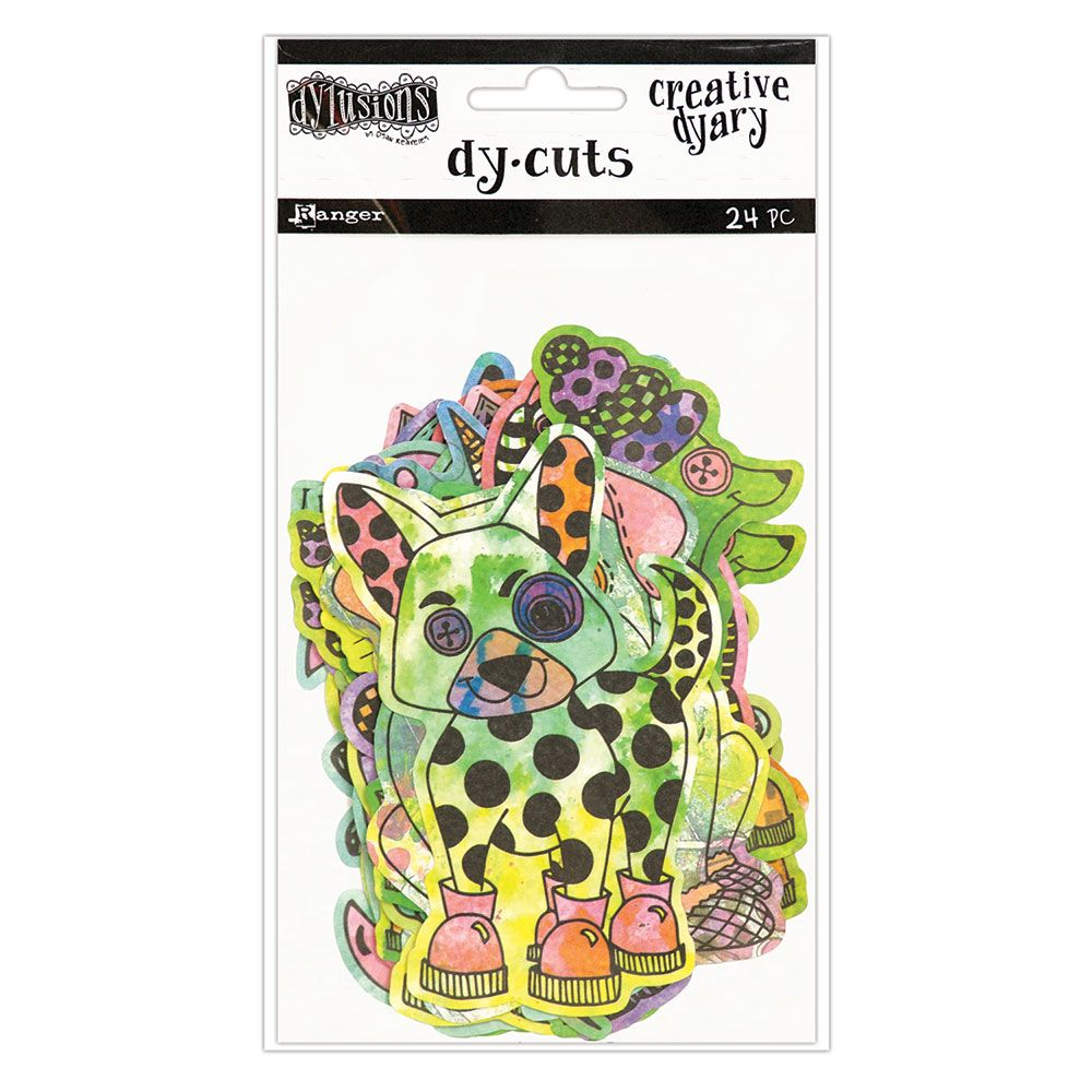Dylusions - The Dyary Collection - Creative Dyary Die Cuts 4