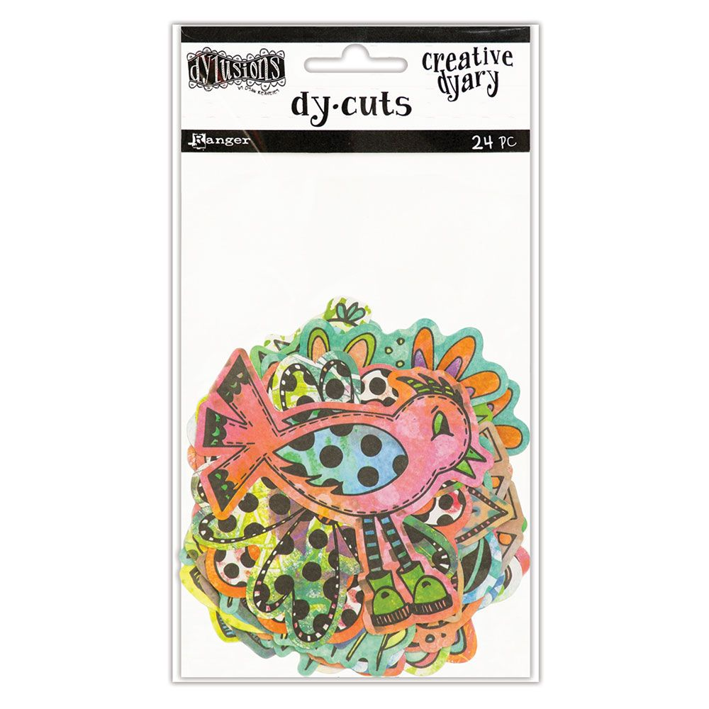 Dylusions - The Dyary Collection - Creative Dyary Die Cuts 5