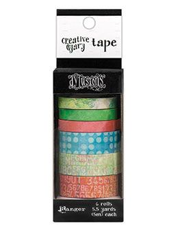 Dylusions - The Dyary Collection - Creative Dyary Tape