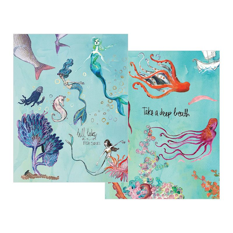 Jane Davenport - Artomology - Washi Sheets Mermaids