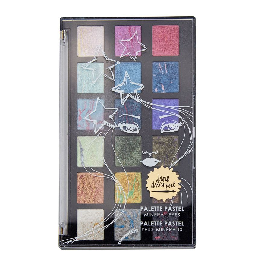 Jane Davenport - Making Faces - Palette Pastel Set - Mineral Eyes