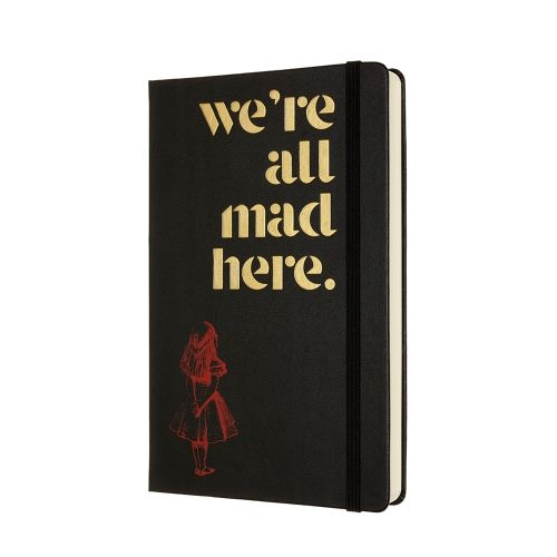 Moleskine - Alice in Wonderland -  12-MONTH LARGE DAILY PLANNER - MAD - 2021