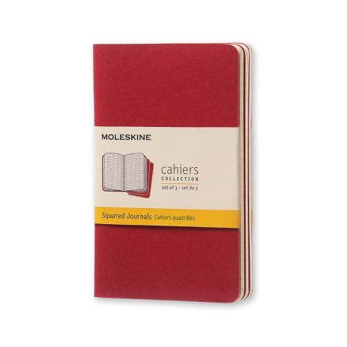 Moleskine - Cahier - Large - Cranberry Red (ruled)