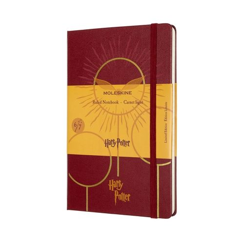 Moleskine - HARRY POTTER LIMITED EDITION NOTEBOOK - Book #6 - Quidditch