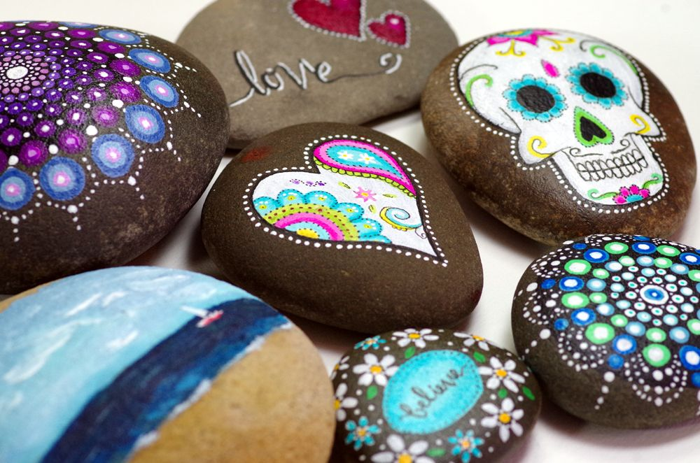 Painted Rocks with Michelle
