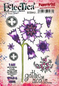 PaperArtsy - Rubber Stamps - E³ Tracy Scott 03 (A5 set, trimmed, on EZ)