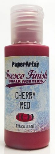 PaperArtsy - Tracy Scott Paints - Singles - Cherry Red