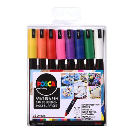 Posca Set - PC-1mr - 16pc